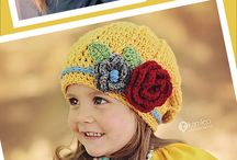 Crochet hats, slouches