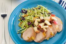 Healthy Pork Recipes / Way beyond the standard pork chop ... inspired pork recipes you're sure to love! / by Two Healthy Kitchens