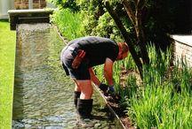Záhrada - voda, potok