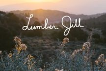 Lumber Jill Guide / Meet the Lumberjill: she loves fair-trade coffee served in a miner's mug, sunrise yoga at the base of her favorite crag, and her hat hair after doffing a knitted beanie.