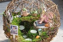 Jardins de fadas em miniatura