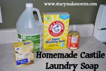 DIY House and Personal Cleaning products