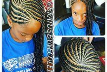 Chloé hairstyles