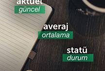 türkçesi