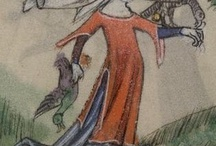 Dress 1300-1350 - Sources / Miniatures, murals, scuplture 0 Miniaturen, wandschilderingen, beeldhouwwerk