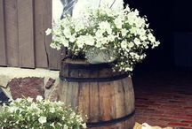 Barn Wedding Inspiration / Our banquet barn can host up to 200 guests and is the perfect venue for a sophisticated rustic wedding.