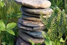 Stone stacks