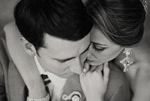 photo studio wedding couple