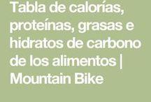 tablas calorias alimentos
