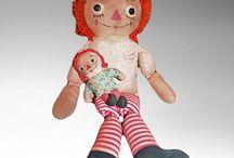Especially Loveable Dolls & Teddies / Dolls & teddy bears offered by www.homefarmantiques.com.
