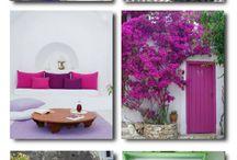 Greek island decoration