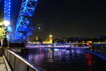 Ночной Лондон / Прекрасные мосты Лондона! И не только!
