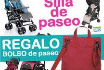 Promociones y regalos para bebés / Descubre las últimas novedades en productos y regalos para tu bebé al mejor precio en nuestra tienda online www.exclusivasdelbebe.com