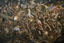Peter Howson Prophecy 2017