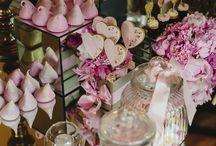 Sweet buffet - Candy Bar / Sweet corner - baby shower - confettate - candy bar