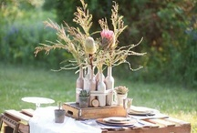 Outdoor Tablescapes and Setups