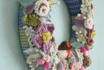 wreath crochet