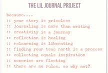 The Lil Journal Project / by Ashley Hackshaw