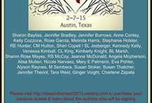 TEXAS Author Signings....Events you DON'T want to miss! / Events in and around Texas where I'll be signing and hanging out with some amazing authors!