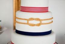 nautical wedding cakes