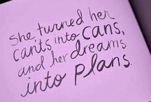 Dreams / Only you can be the manifester of your Dreams!