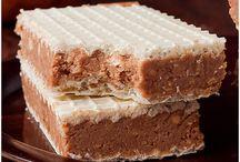wafle z czekolada