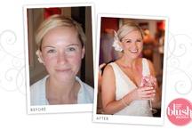 Before and After Makeup Brides / Blush Brides Hair and Makeup