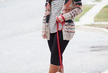 Fall/winter fashion looks