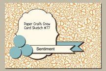 Paper Craft Crew Sketches