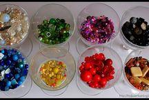 Biżuteria, koralki / Moje kolczyki i biżuteria