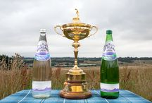 Ryder Cup 2014 / We were very proud to be the official bottled water supplier to The Ryder Cup!