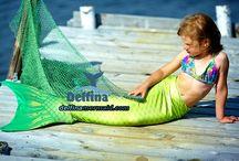 Mermaid's tails seria Sea Princess / New models mermaid tails for children!