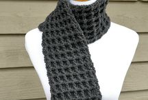 Crochet scarves, infinity scarves, & cowls
