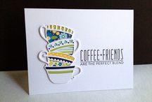 Cards, teacups