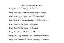 Disney Movie Workouts