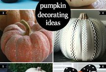 Pumpkin decorating / by Caryn Solvsberg