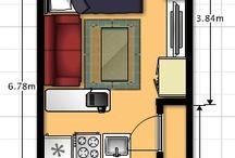 floor plans for 9mx4 m