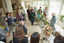 Floral Design Workshops / pictures of past workshops