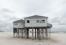 BEACH Homes... shacks to mansions / I'll wake up by the ocean! / by HeatherNelson