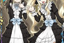 Fairy Tail Mavis and Zera