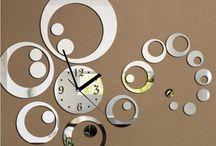 orologio sopra mobile