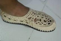 zapatos crochet