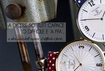COLONNA / L'eleganza, la consistenza e la raffinatezza degli orologi sono contenuti in un prezzo adeguato al pubblico raffinato, importante, e per regali personalizzati con date di ricorrenze e nomi.