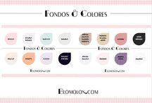 Fondos & Colores / Fondos y combinaciones en colores