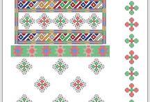 Roumanian cross stitch