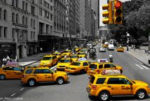 JMC Pictures - New York / Manhattan yellow cabs
