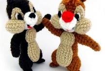 chip and dale knitted