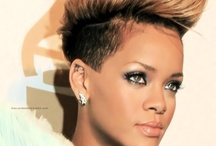 Hair short Rihanna