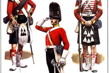 UNIFORMS OF BRITISH ARMY