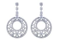 Bohemian / Bohemian Collection jewelry by DANI by Daniel K in sterling silver and simulated diamond